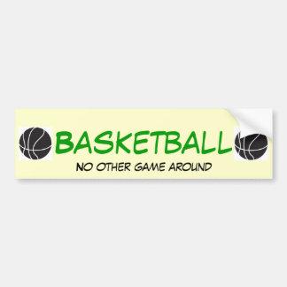Basketball NOGA Bumper Sticker