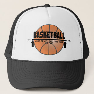 Basketball Not For You Trucker Hat