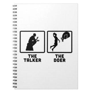 Basketball Note Book