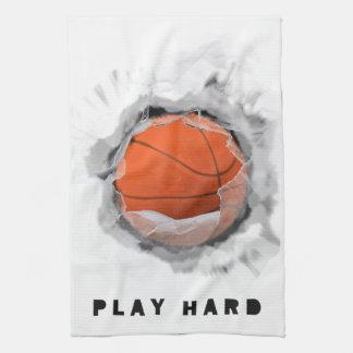 BASKETBALL NOVELTIES HAND TOWEL