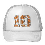 Basketball Number 10 Trucker Hat