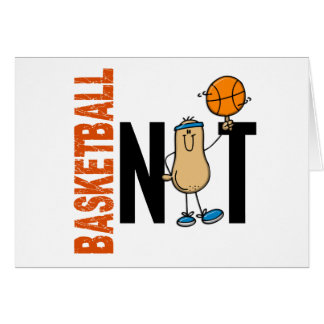 Basketball Nut 1 Greeting Card