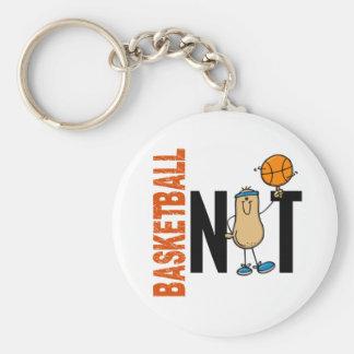 Basketball Nut 1 Keychain