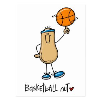 Basketball Nut 3 Post Card