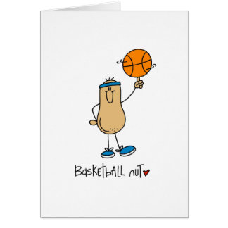 Basketball Nut T-shirts and Gifts Card