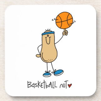 Basketball Nut T-shirts and Gifts Drink Coaster