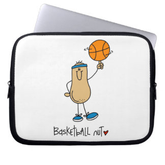 Basketball Nut T-shirts and Gifts Laptop Sleeve