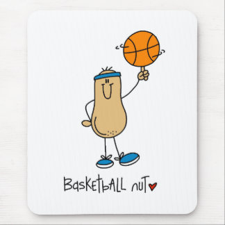 Basketball Nut T-shirts and Gifts Mouse Pads