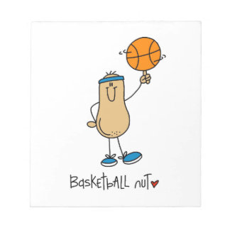Basketball Nut T-shirts and Gifts Memo Pads