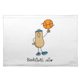 Basketball Nut T-shirts and Gifts Placemats
