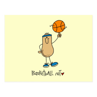 Basketball Nut T-shirts and Gifts Post Cards