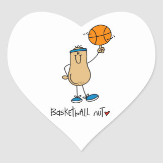 Basketball Nut T-shirts and Gifts Sticker