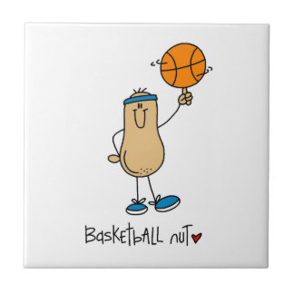 Basketball Nut T-shirts and Gifts Ceramic Tiles