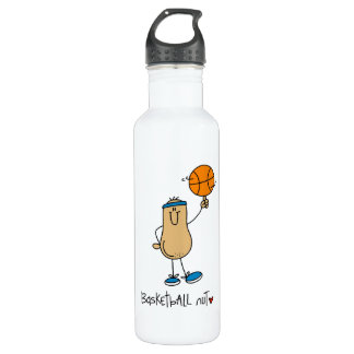 Basketball Nut T-shirts and 24oz Water Bottle