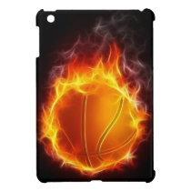 Basketball of Fire iPad Mini Case