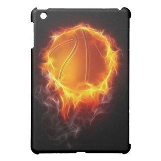 Basketball of Fire  iPad Mini Cases