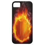 Basketball of Fire iPhone 5 Case