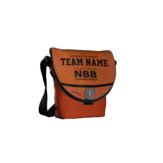 BASKETBALL OFFICIAL GAME B-BAG MESSENGER BAG