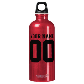 BASKETBALL OFFICIAL GAME T BOTTLE Red bt