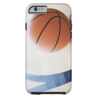 Basketball on court tough iPhone 6 case