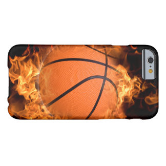 Basketball on fire barely there iPhone 6 case