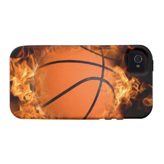 Basketball on fire vibe iPhone 4 cover