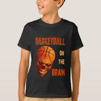 Basketball On The Brain T-Shirt