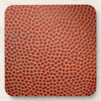 Basketball or Football Faux Leather Skin Coasters
