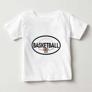 Basketball Oval Baby T-Shirt