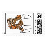 Basketball Owl Postage