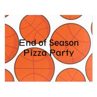 Basketball Party Team Postcard