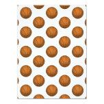 Basketball Pattern 5.5x7.5 Paper Invitation Card