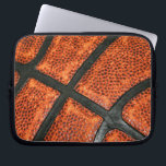 "Basketball Pattern Computer Sleeve<br><div class=""desc"">A cool basketball pattern for the sports fanatic!</div>"