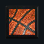 """Basketball Pattern Gift Box<br><div class=""""desc"""">A cool basketball pattern for the sports fanatic!</div>"""