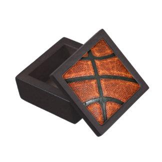 Basketball Pattern Jewelry Box