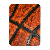 Basketball Pattern Magnet
