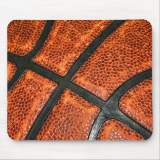 Basketball Pattern Mouse Pad