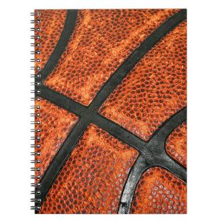 Basketball Pattern Spiral Notebook
