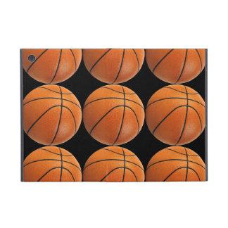 Basketball Pattern on Black iPad Mini Covers