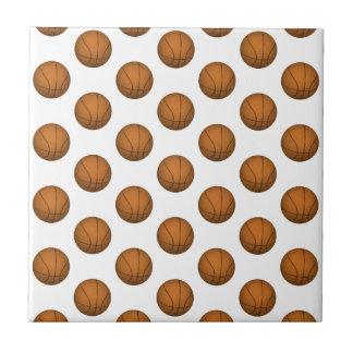 Basketball Pattern Tile