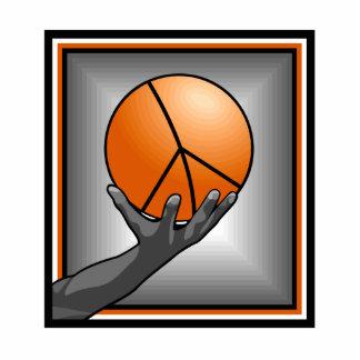 Basketball Peace Photo Cutouts