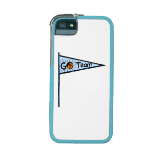 Basketball Pennant iPhone 5/5S Cases