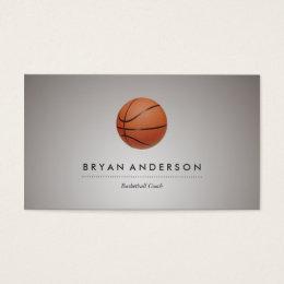 Basketball sport business cards templates zazzle basketball personal business card colourmoves