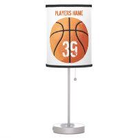 Basketball (Personalizable) Desk Lamp