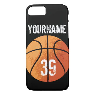 Basketball (Personalizable) iPhone 7 Case