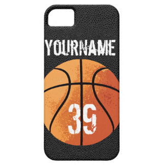 Basketball (Personalizable) iPhone SE/5/5s Case