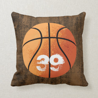 Basketball (Personalizable) Throw Pillow