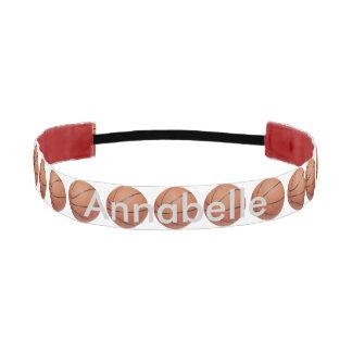 Basketball Personalized Athletic Headband