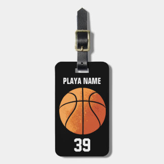 Basketball (Personalized) Bag Tag