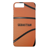 Basketball Personalized iPhone 7 Plus Case